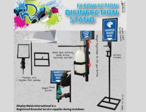 Display Mania Introduces Disinfection Stand