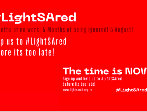 #LightSAred Campaign Supporting The Events Industry