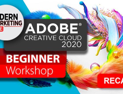 Modern Marketing LIVE Presents Adobe Online Beginner Workshop