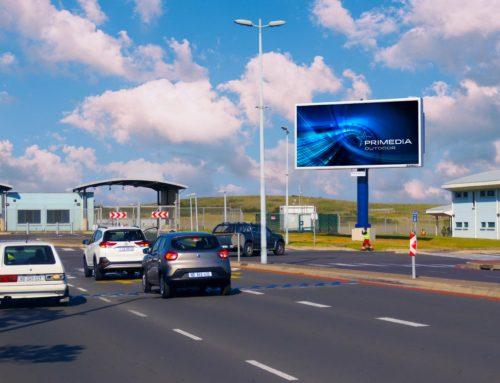 Primedia Outdoor Launches Airport Roadside LED Digital Display